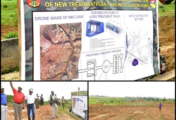 CHIEF OF ARMY STAFF LIEUTENANT GENERAL TUKUR YUSUFU BURATAI UNVEILS MULTIPLE PROJECTS, INSPECTS ONGOING WORKS IN RUKUBA BARRAKS