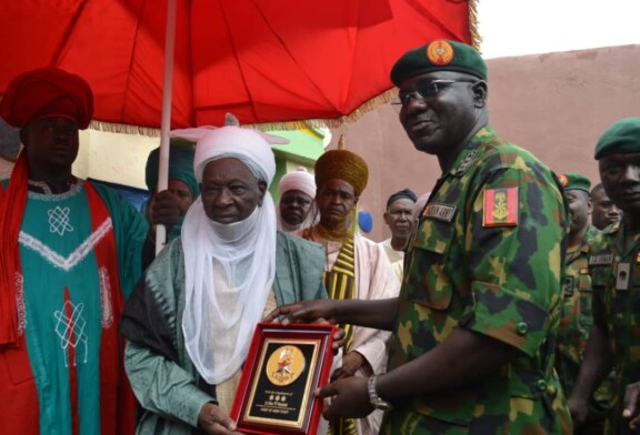 CHIEF OF ARMY STAFF VISITS FOB DAURA, 171 Battalion Barracks to be Constructed/Completed Soon